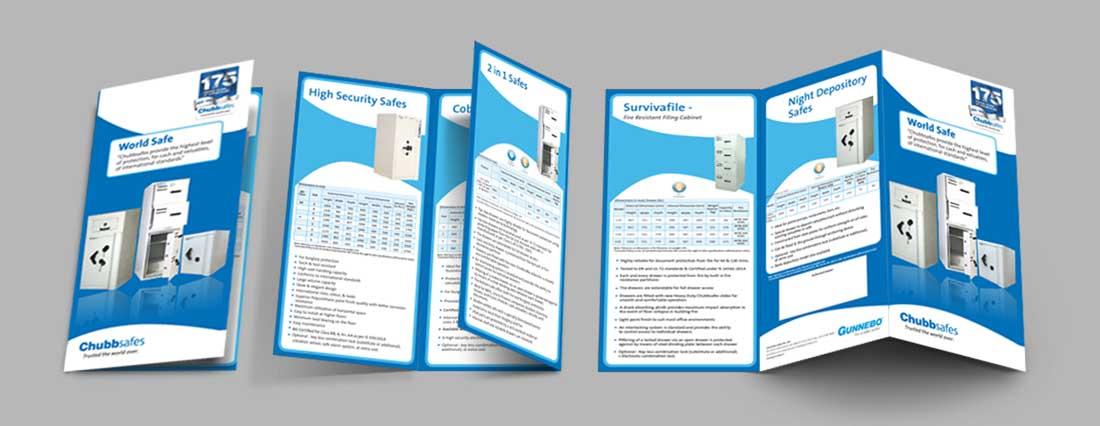 Chubb Safes 3 Fold Brochure