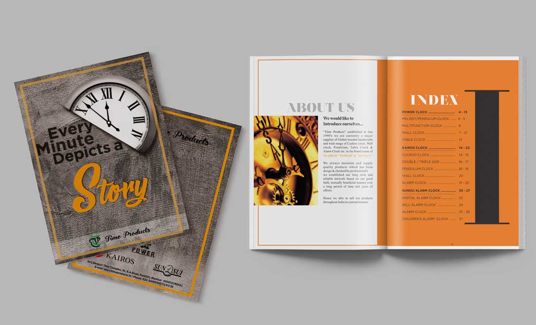 Times Products Booklet