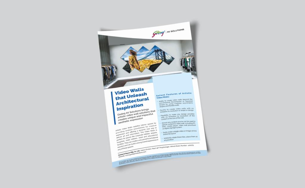 Godrej AV solutions - leaflet